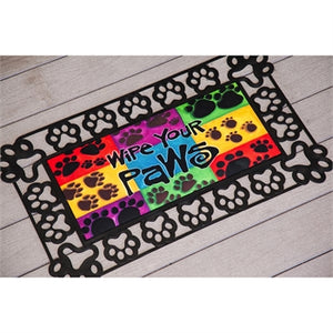 Wipe Your Paws Colorful Sassafras Switch Mat