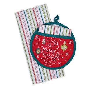 Be Merry & Bright Potholder Gift Set