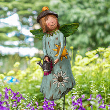 Load image into Gallery viewer, Courage Grows Garden Angel