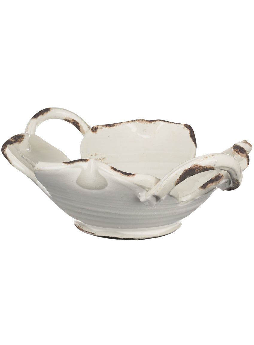 Ceramic Bowl w/ Handle
