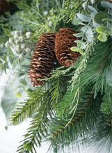 Load image into Gallery viewer, Mixed Pine and Eucalyptus Garland