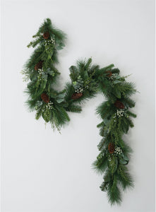 Mixed Pine and Eucalyptus Garland