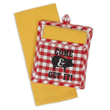Load image into Gallery viewer, Come & Get It Potholder Gift Set