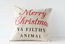 "Load image into Gallery viewer, 20"" Merry Christmas Pillow"