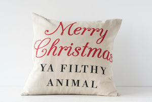 "20"" Merry Christmas Pillow"
