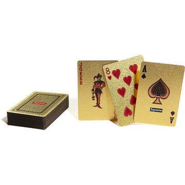 Supreme Gold Foil Playing Cards