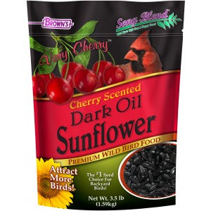Brown's Cherry Scent Sunflower Seed