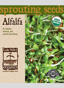 Alfalfa Sprouting Seeds (Pkt)