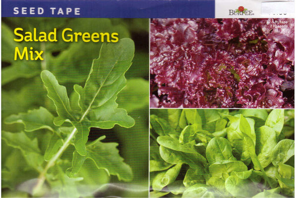 Salad Greens Mix - Seed Tape