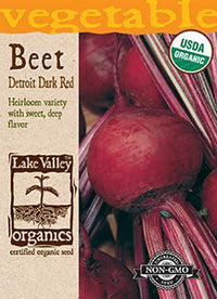 Organic Detroit Dark Red Beet (Pkt)