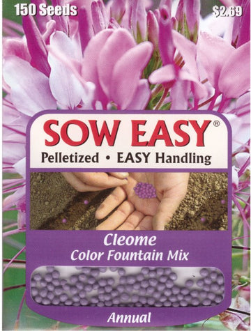 Color Fountain Mix Cleome