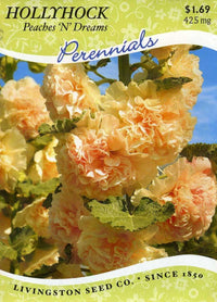 Peaches 'n Dreams Hollyhock(pkt)