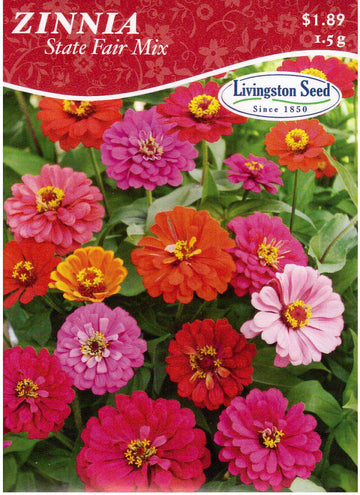 State Fair Zinnia Mix