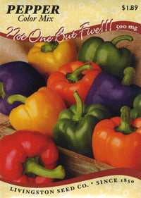Bell Color Mix Sweet Pepper
