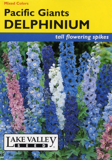 Pacific Giants Delphinium Mixed Colors(pkt)