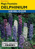 Magic Fountains Delphinium Mixed Colors
