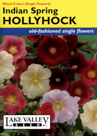 Indian Spring Mix Hollyhock