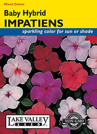 Baby Hybrid Impatiens Mixed Colors