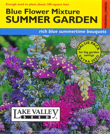 Summer Garden Mixture, All Blue