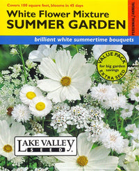 Summer Garden Mix, All White