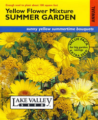 Summer Garden Mixture, All Yellow