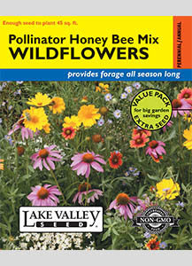 Wildflowers, Honey Bee Polinator Mix