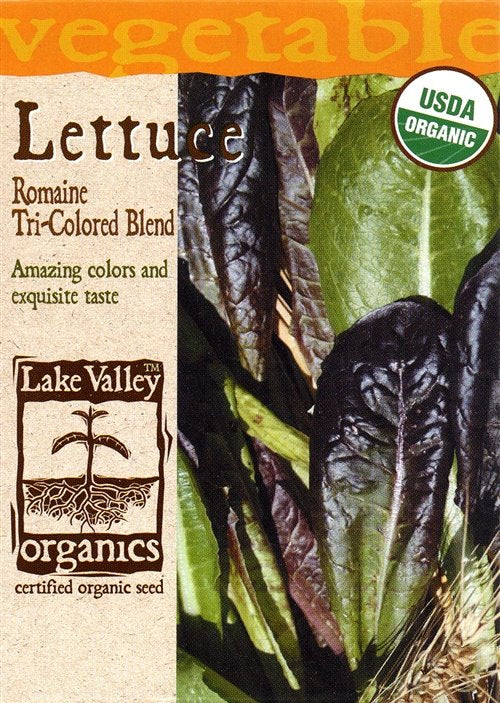 Romaine Tri-color Blend Lettuce