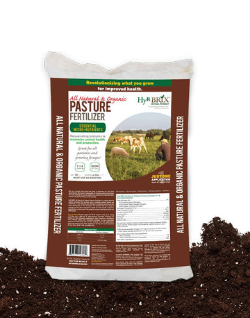 Hyr Brix Organic Pasture Fertilizer