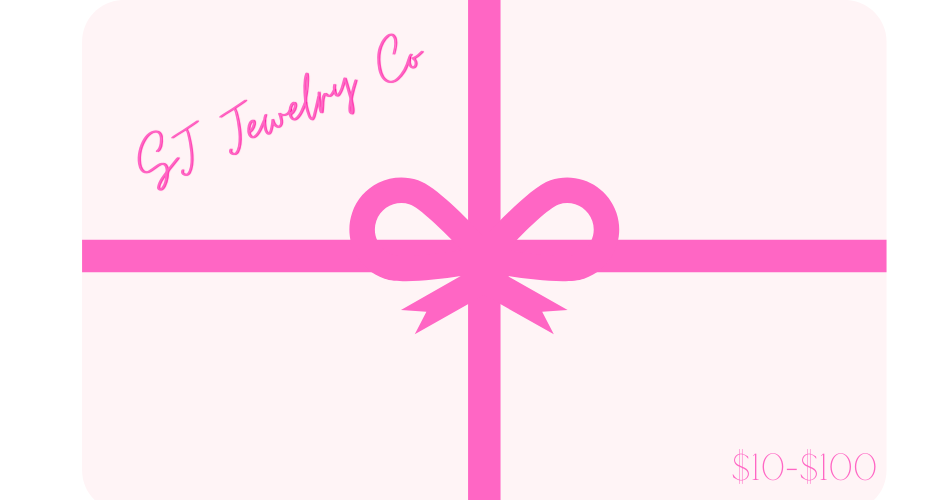 SJ Jewelry Co E-Gift Card