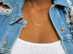 Lade das Bild in den Galerie-Viewer, Rep Your Sign Necklace