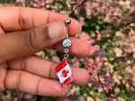 Load image into Gallery viewer, Rep Your Flag Dangle Belly Ring