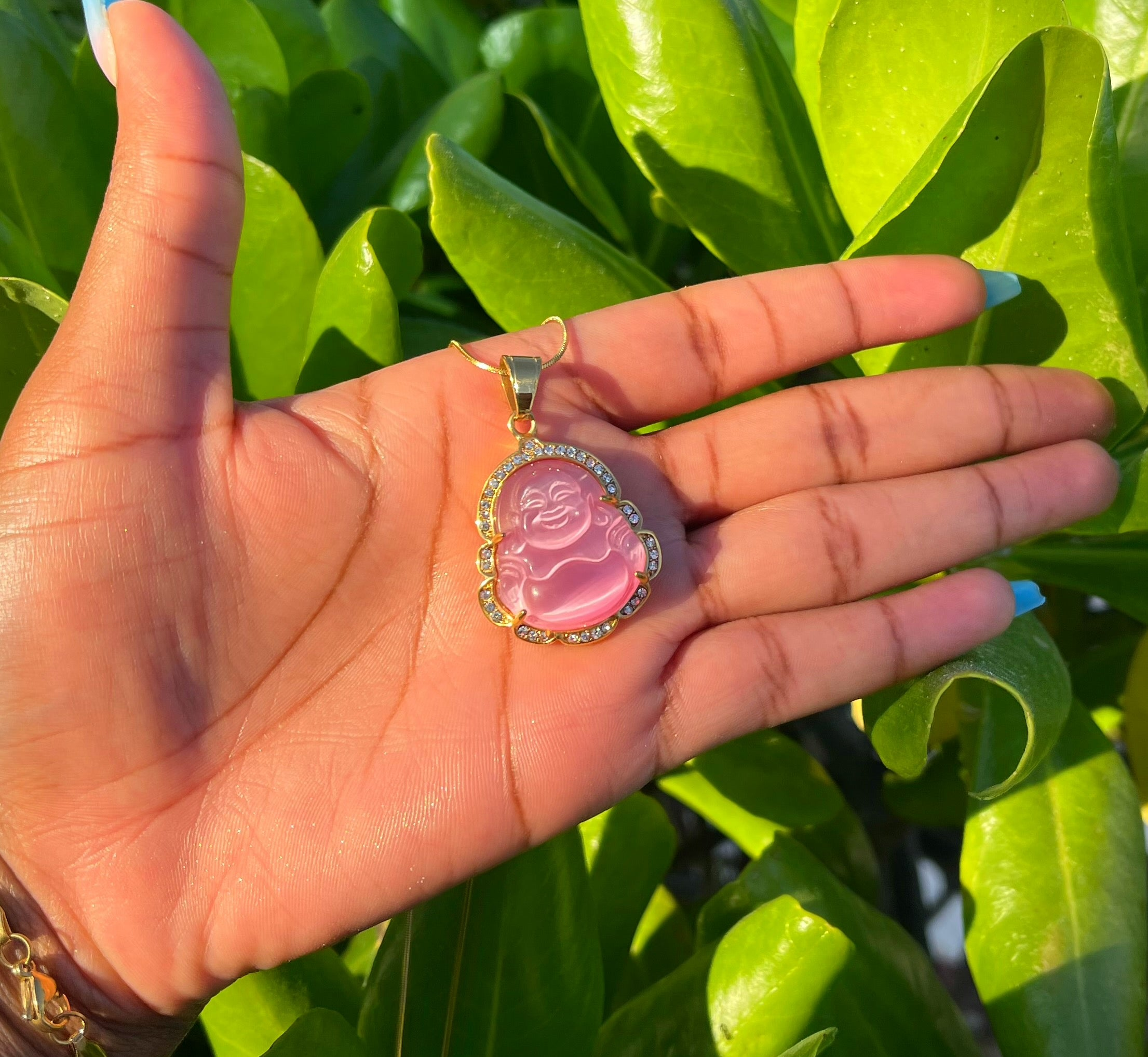 Buddha Agate Necklace 2.0
