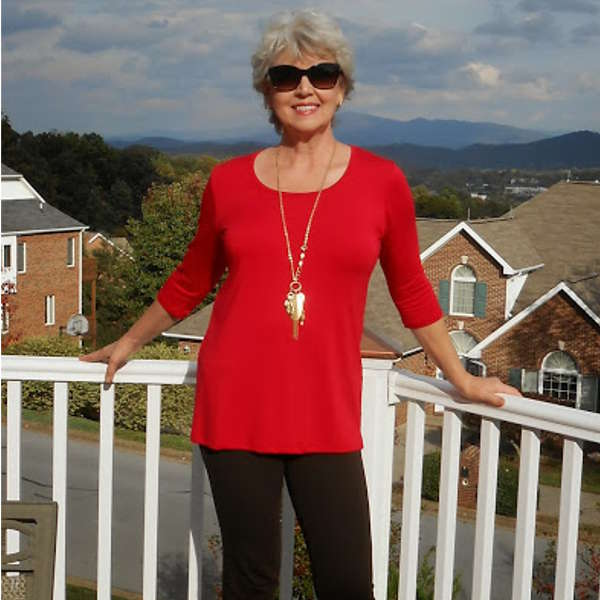 A great looking tunic is always the number one item on my wish list every season.  By Susan Street, Fifty, not Frumpy