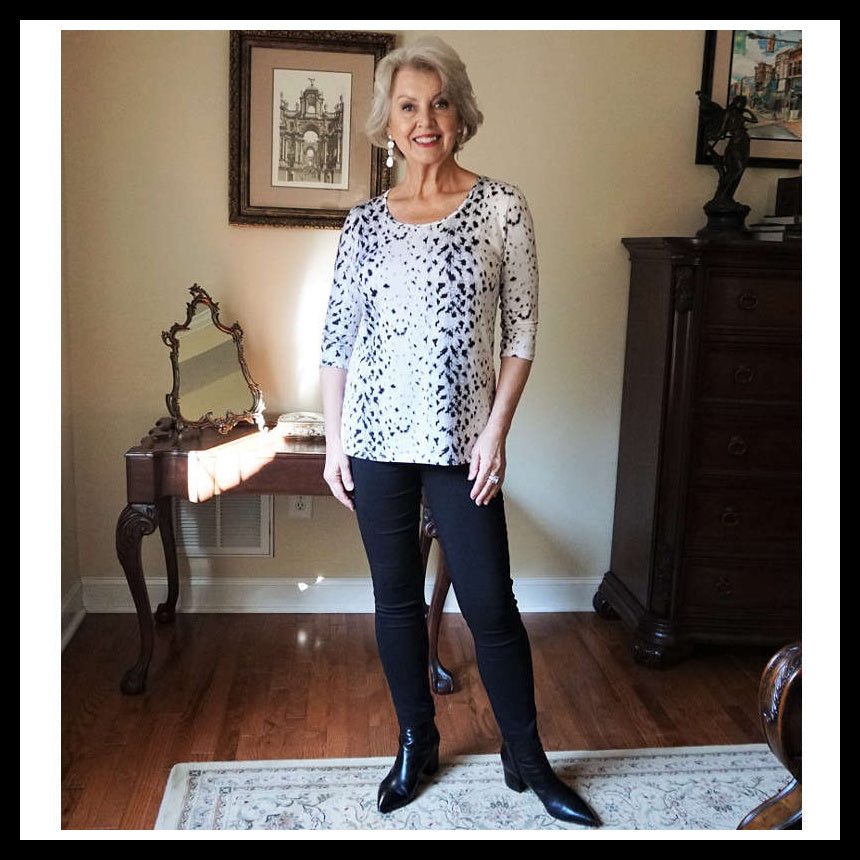 Understated Animal Print - by Susan Street, Susanafter60