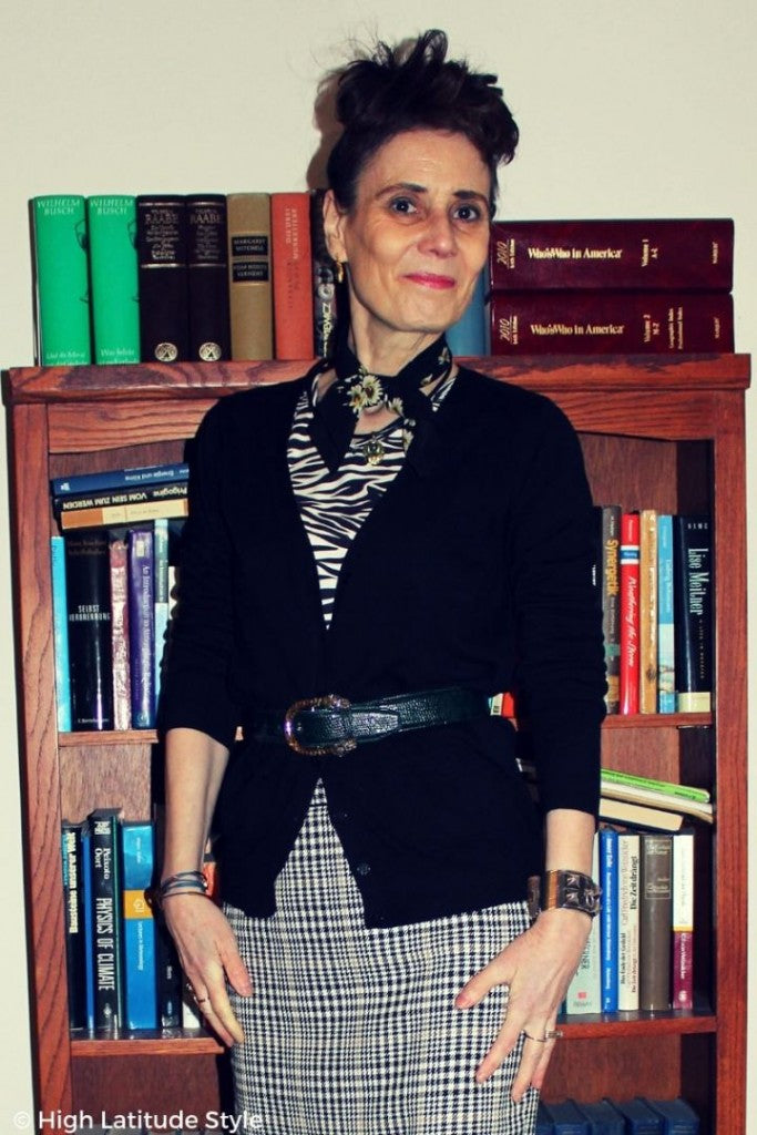 mixed-pattern-office-outfit