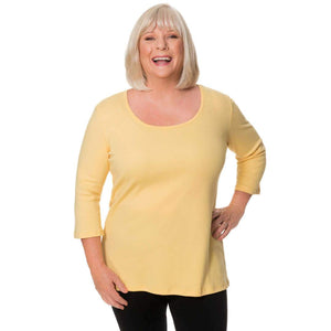 Cotton blend yellow top L / yellow CoveredPerfectly