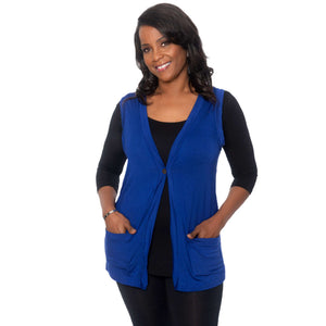 Micro Modal Vest with pockets