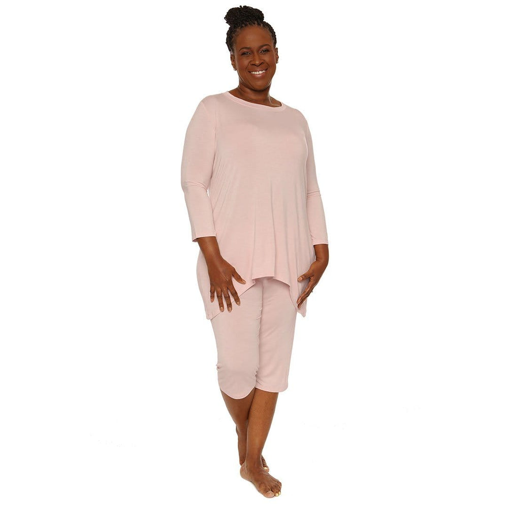 Comfortable lounge wear pretty blush color