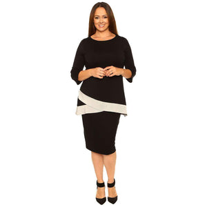 Black Pencil Skirt Skirts Black / S Covered Perfectly