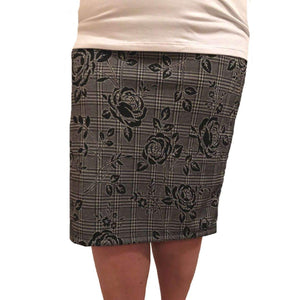 Rose Glen Plaid Pencil Skirt Skirts Covered Perfectly
