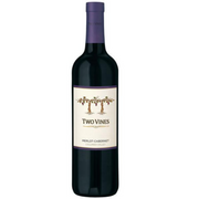 Two Vines Merlot 750 ml