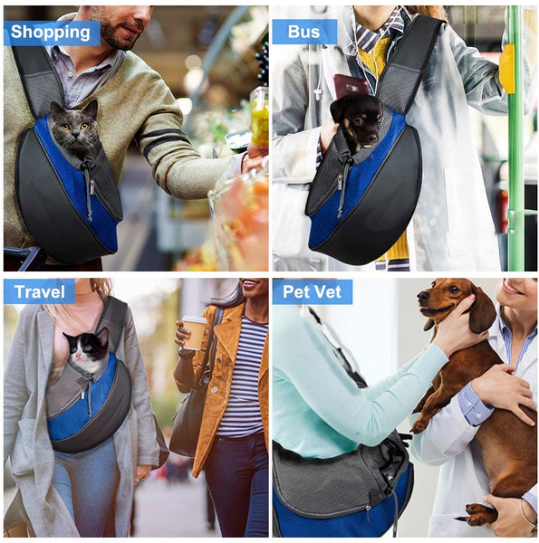 Breathable Dog Carrier Outdoor Travel Handbag For Small Dogs