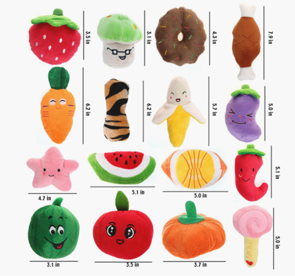 KC Funny Simulation Pet Dog Toys For Small Dogs Bite Resistant Squeaky size.jpg