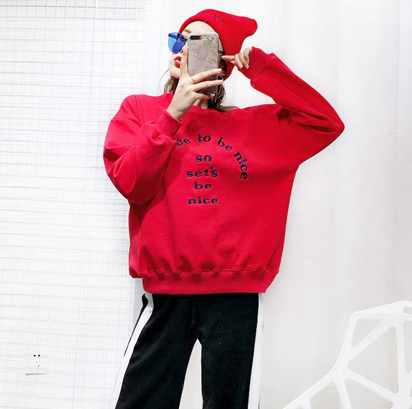 dog Owner Matching sweater-red