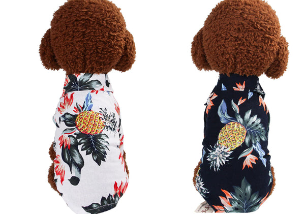 summer dog shirt with styles