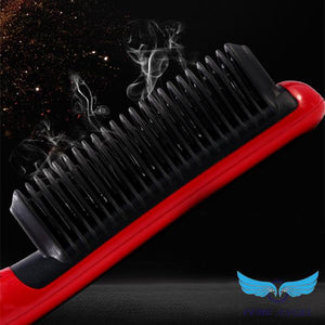 Advanced Ceramic Hair Straightener Brush