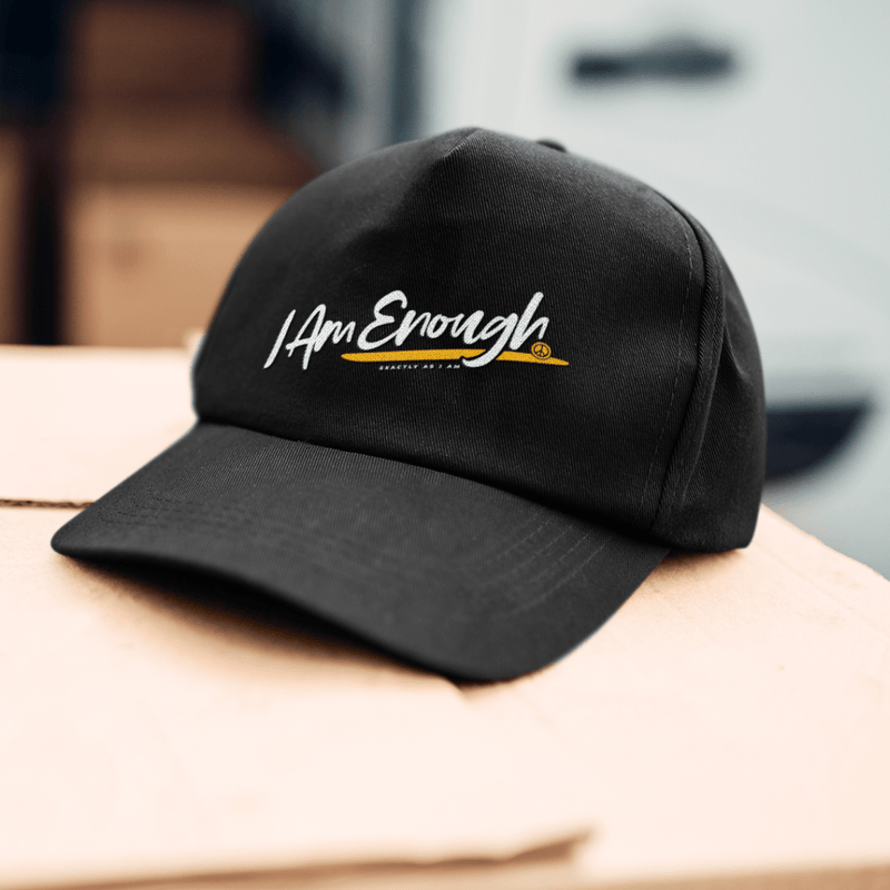 I Am Enough Script Hat