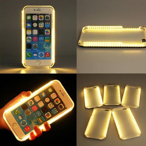 (BUY 2 FREE SHIPING)LED Selfie iPhone Case