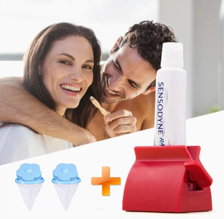 Toothpaste Squeezer Dispenser-Buy 1 Get 2 Free Gifts