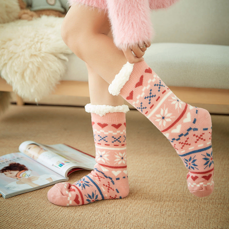 【Christmas Promotion】- Non-slip Slipper Socks